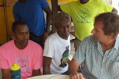 Divers-listen-keenly-to-Trainer-Andrew-Ross-at-informal-training-session