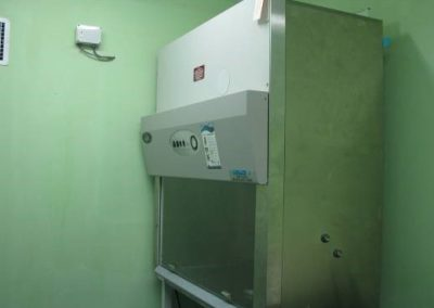 FCF Funded Laminar Flow and Carbon Dioxide Incubator used in the researches.