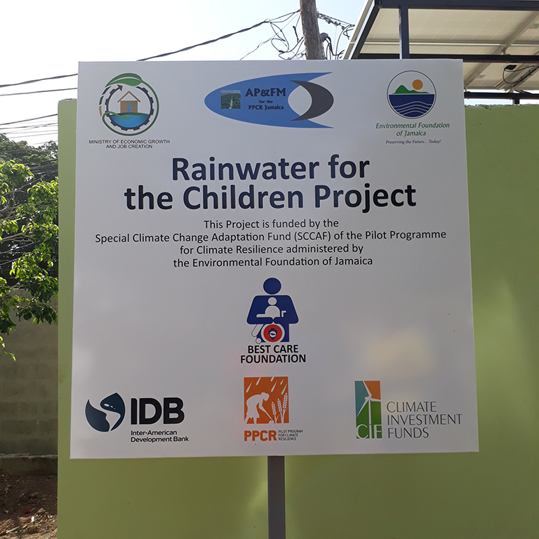 Project-sign-for-Best-Care-Foundation-completed-project